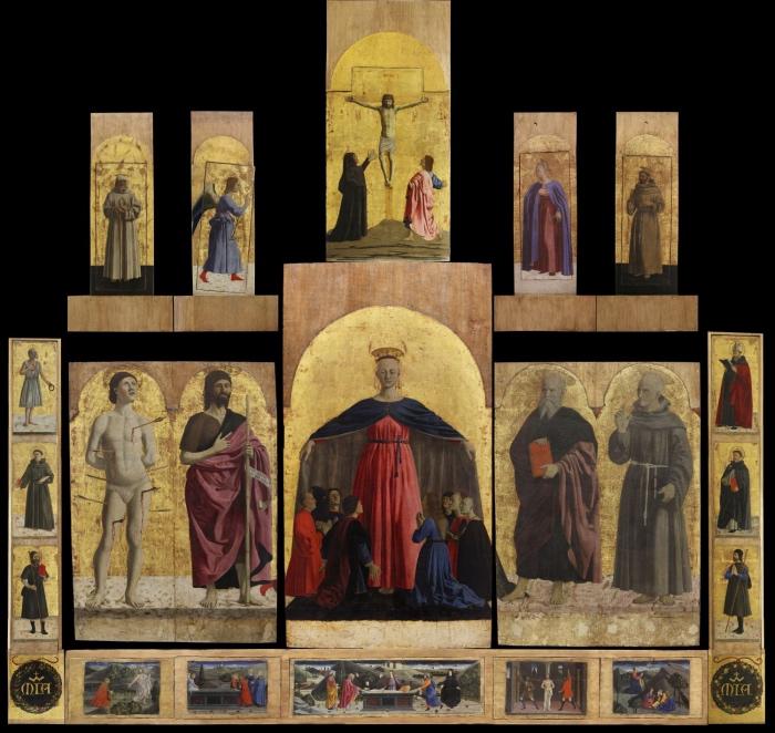 Piero della Francesca | Polittico di San Sepolcro