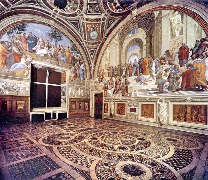 Raffaello Sanzio | Stanza della Segnatura