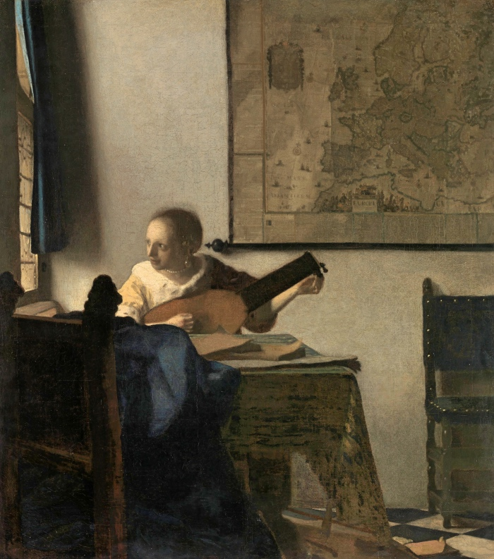 Vermeer | Woman with a Lute