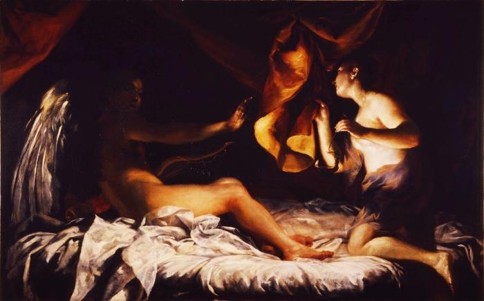 Giuseppe Maria Crespi | Amore e Psiche