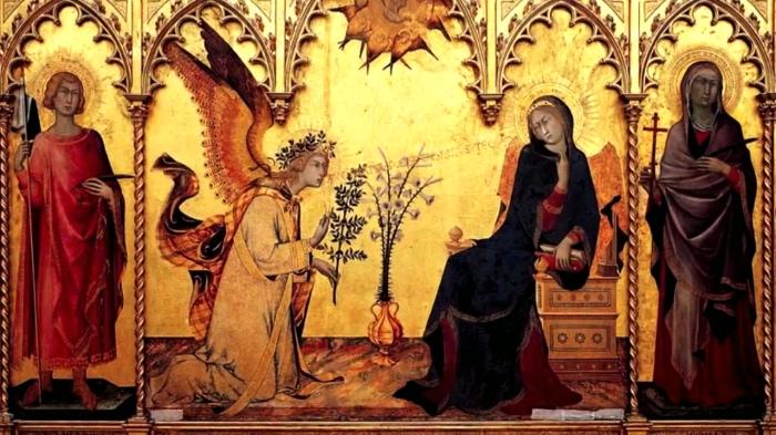 Simone Martini, Annunciazione