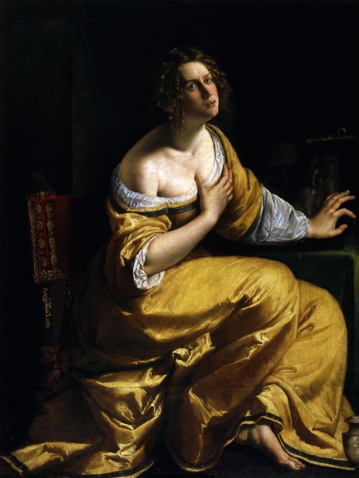 Artemisia Gentileschi | La conversione della Maddalena
