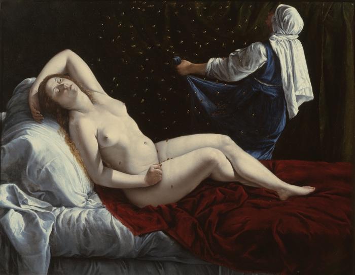 Artemisia Gentileschi | Danae