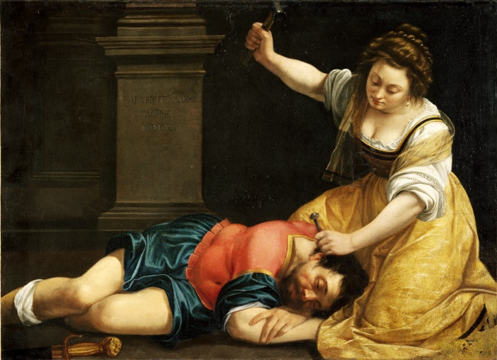 Artemisia Gentileschi | Giaele e Sisara