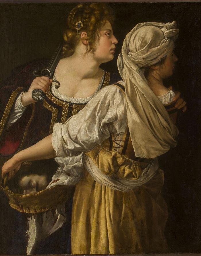 Artemisia Gentileschi | Giuditta e la fantesca Abra