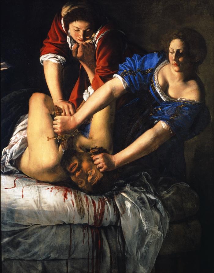 Artemisia Gentileschi | Giuditta decapita Oloferne