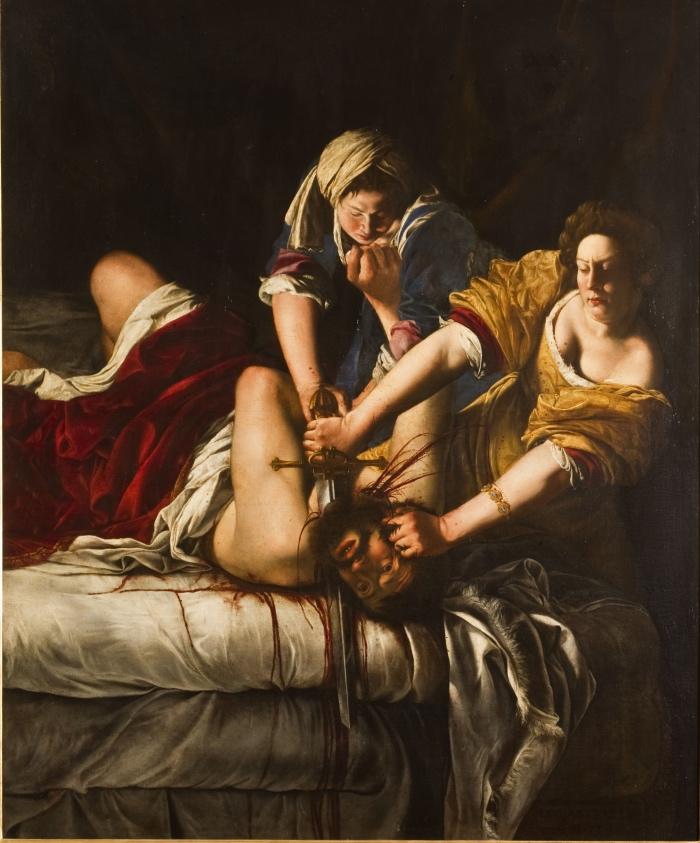 Artemisia Gentileschi Giuditta che decapita Oloferne, 1620-21 ca. Olio su tela, 199x162,5 cm Firenze, Gallerie degli Uffizi Gabinetto Fotografico delle Gallerie degli Uffizi