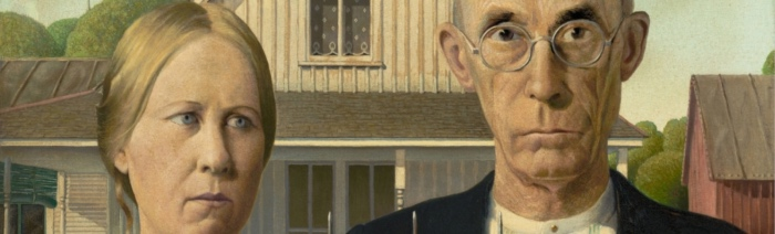 Grant Wood | American Gothic