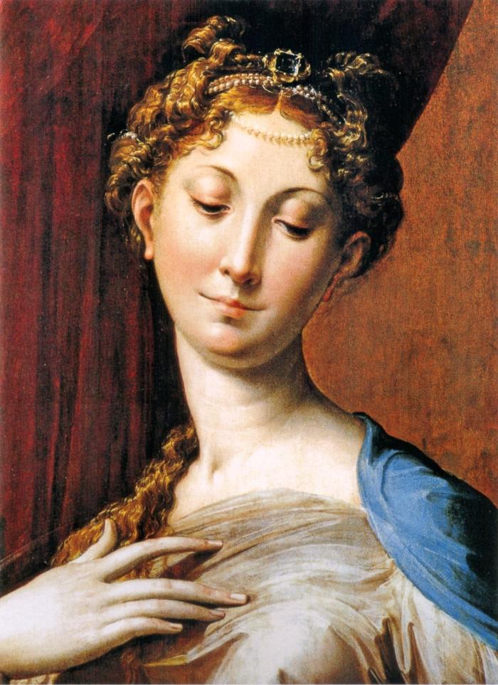 Madonna col Collo Lungo | Parmigianino | dettaglio