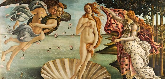 Venere | botticelli | Uffizi