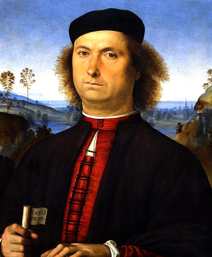 Perugino, Ritratto delle Opere