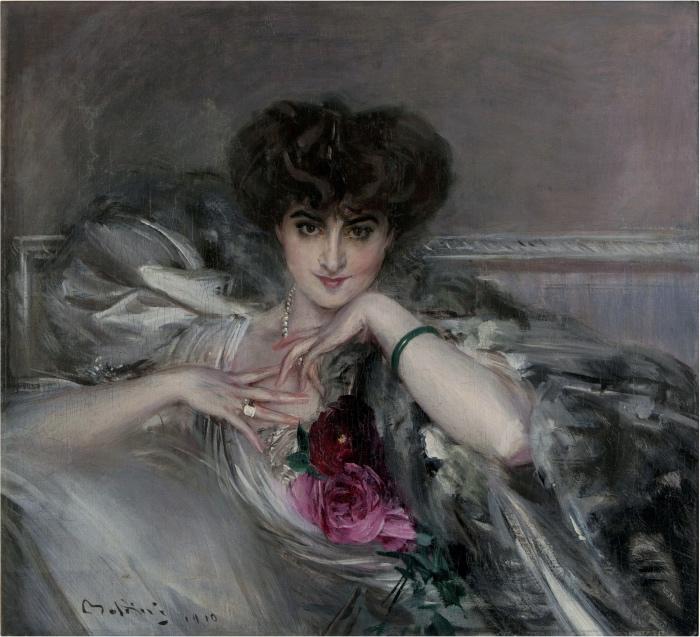 Giovanni Boldini | Ritratto della principessa Radziwill