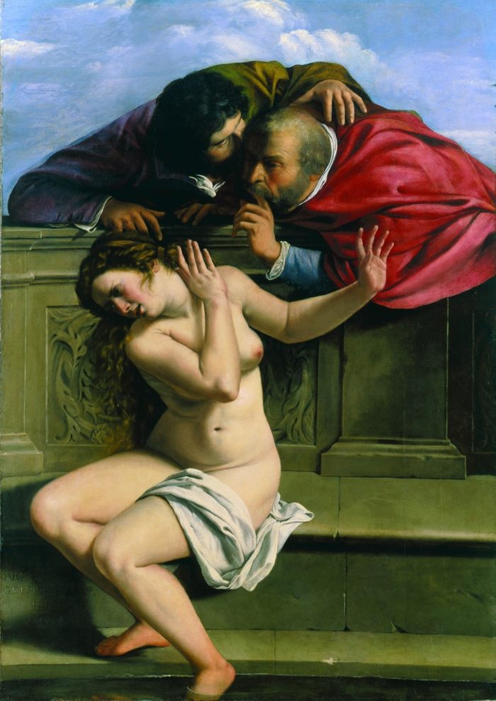 Artemisia Gentileschi | Susanna and the Elders