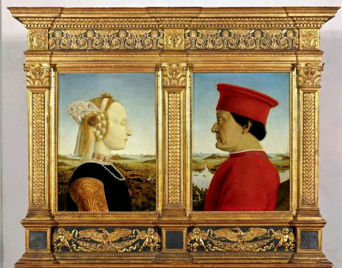 Piero della Francesca | I Duchi di Urbino.