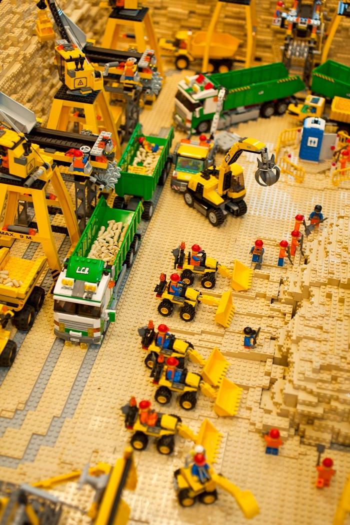 mostra Lego