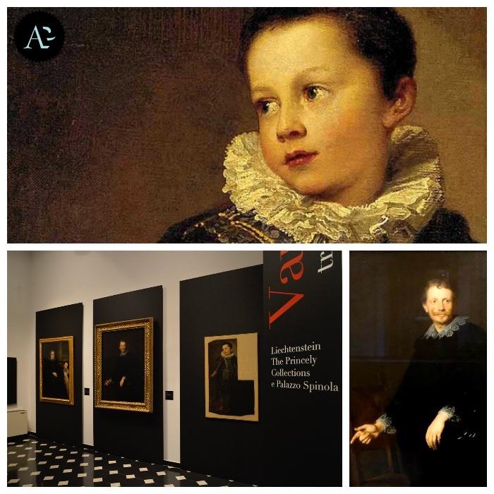Van Dyck   Ritratto di Desiderio Segno   mostre Genova