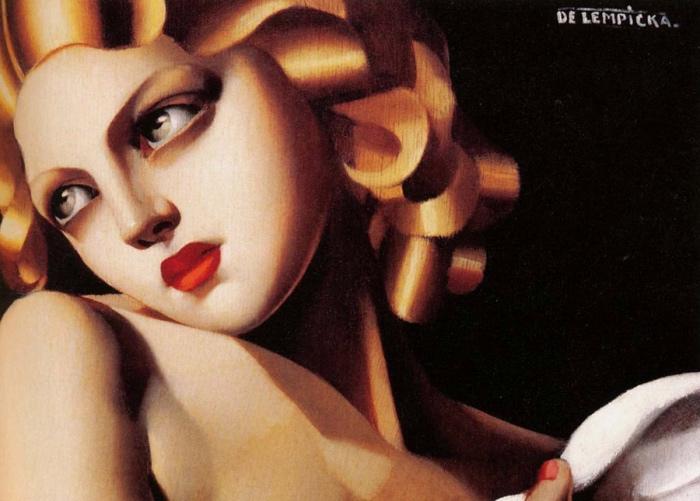 Tamara De Lempicka | Femme a la Colombe