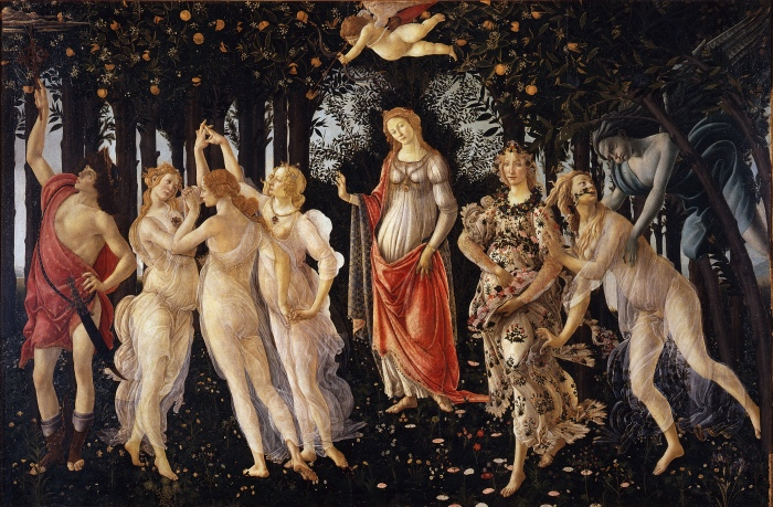La Primavera di Botticelli - Image source: www.cgentertainment.it