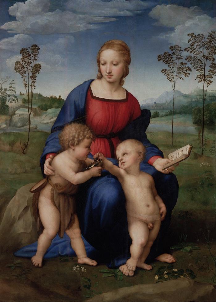 Raffaello Sanzio | Madonna del Cardellino