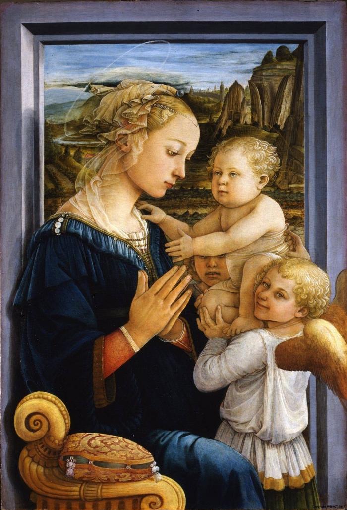 Filippo Lippi | Madonna col Bambino