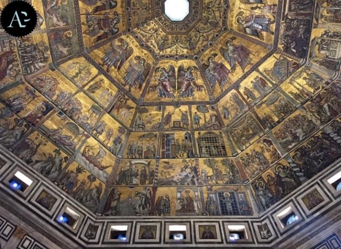 Mosaici   Battistero di Firenze
