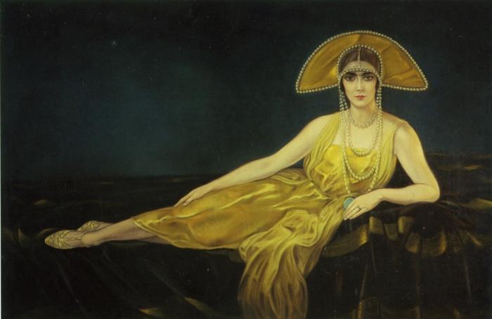 Alberto Martini: Ritratto di Wally Toscanini, 1925