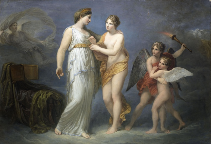 Andrea Appiani, Venere allaccia il cinto a Giunone