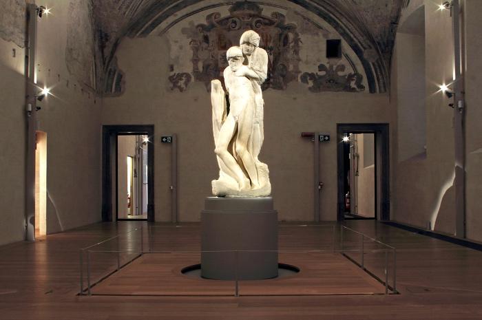 scultura Michelangelo | pietà Rondanini