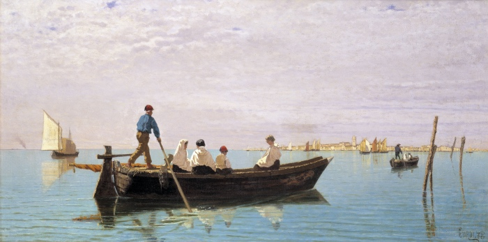 Guglielmo Ciardi, Verso Murano