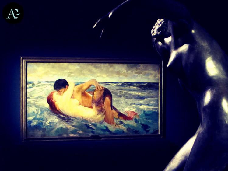 Max Klinger | La sirena