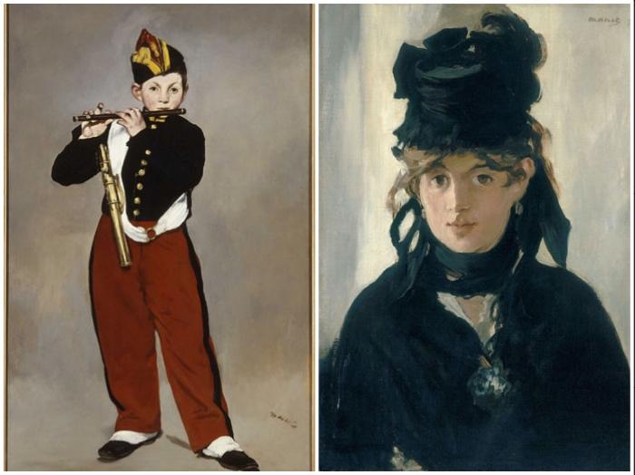 Manet | Pifferaio | Berthe Morisot