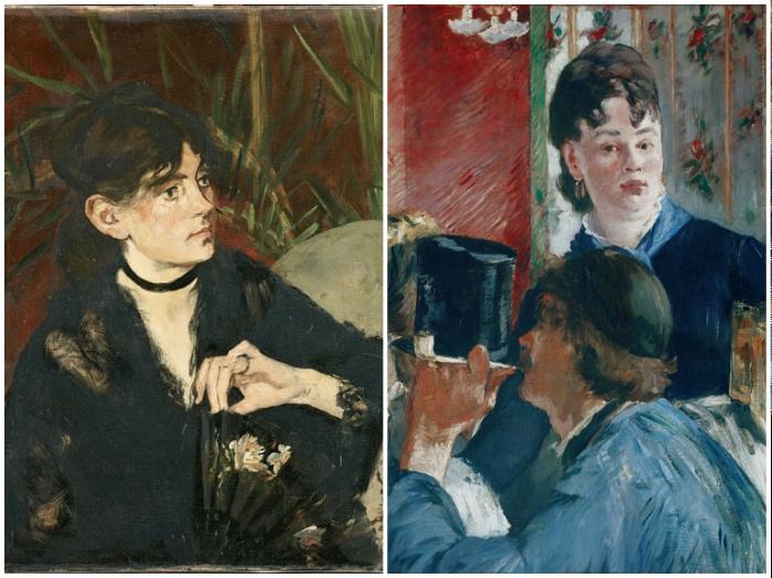 Manet | Berthe Morisot | La cameriera della birreria