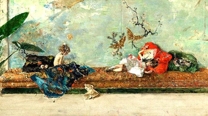 Mariano Fortuny | Bambini del pittore