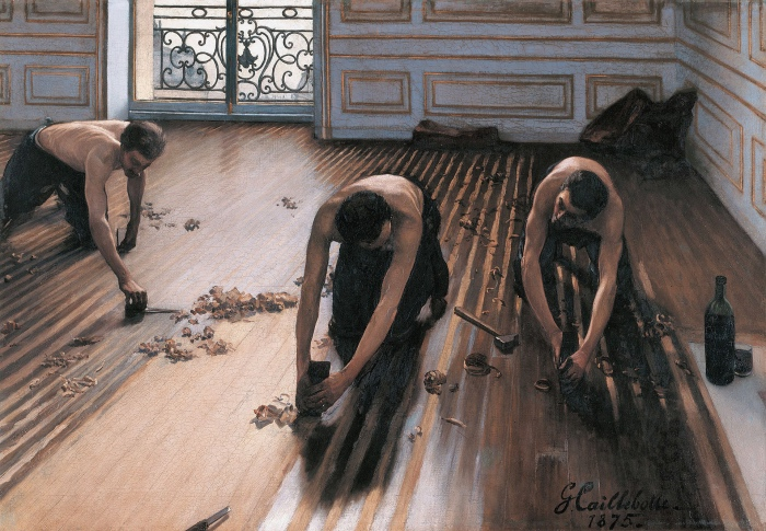 Gustave Caillebotte | piallatori di parquet