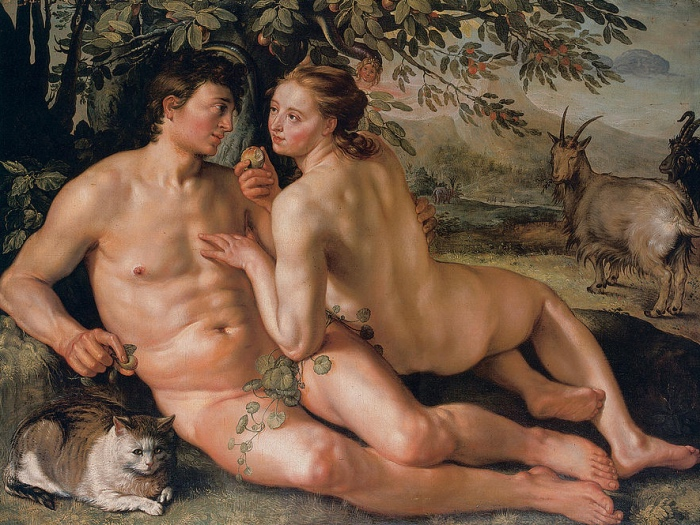 The Fall Of Man | Hendrick Goltzius