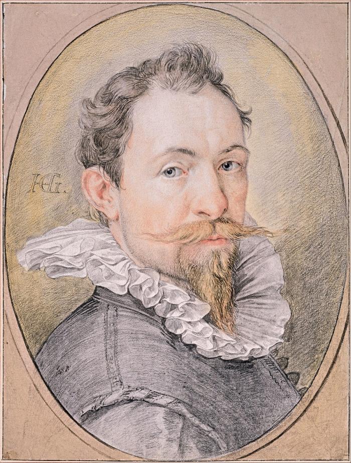 Henrick Goltzius | Autoritratto di Henrick Goltzius