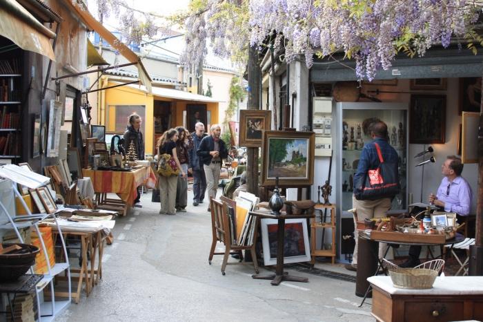 Parigi | mercatino delle pulci