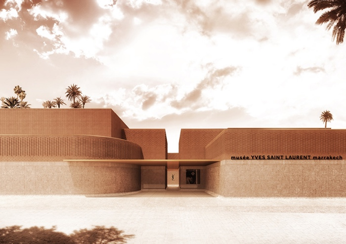 The Yves Saint Laurent museums in Paris and in Marrakech