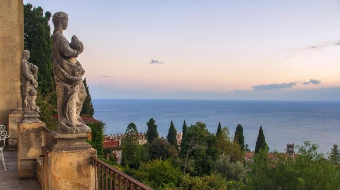 Giardino Casa Cuseni | Taormina