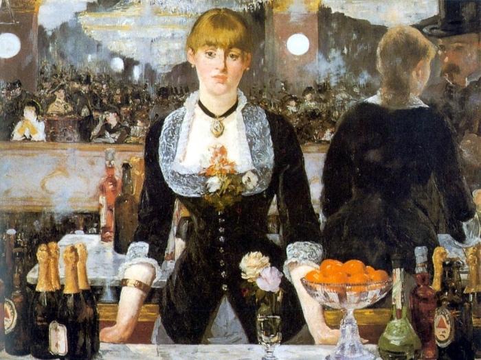Edouard Manet | bar delle Folies-Bergère