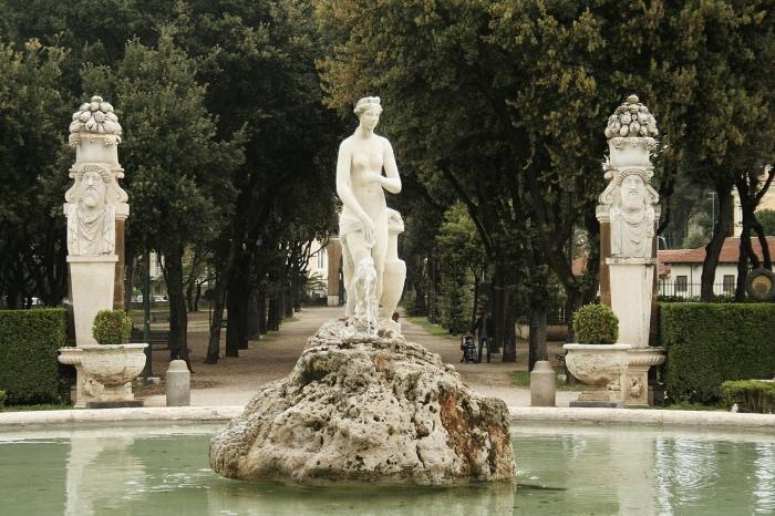 Fontana Venere | Villa Borghese | roma