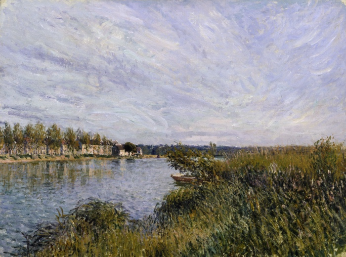 Alfred Sisley | Saint-Mammès