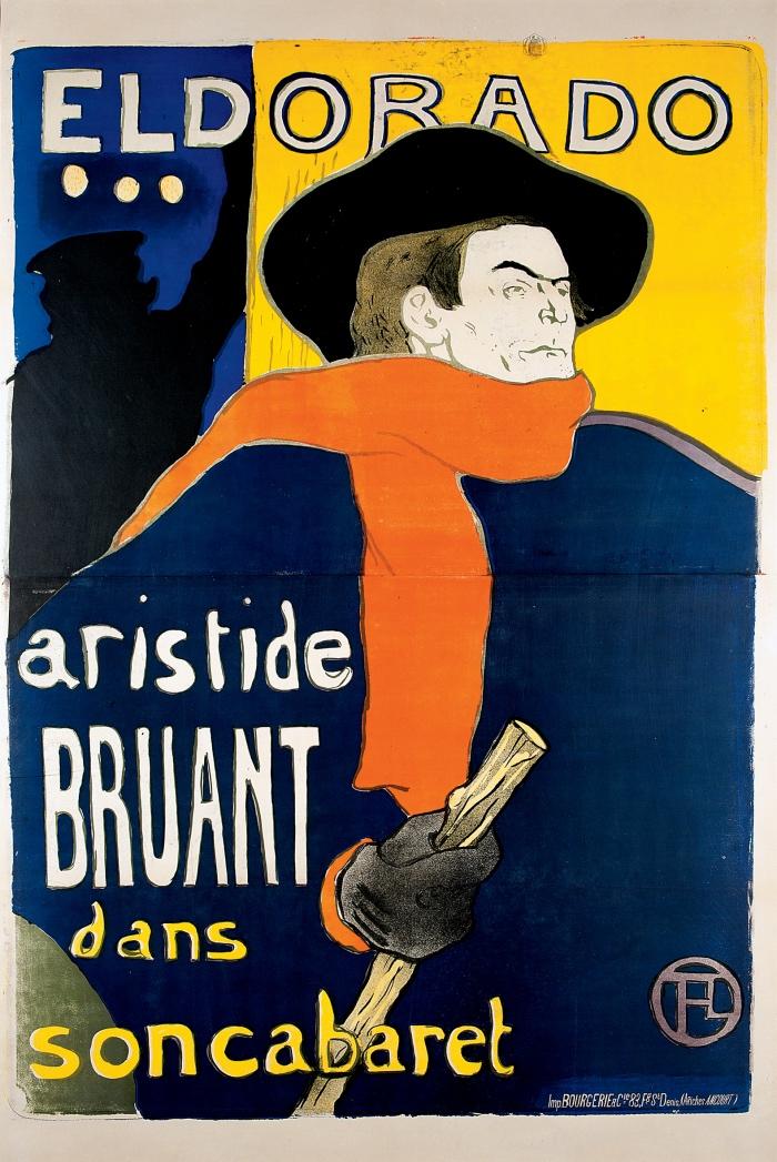 Toulouse-Lautrec | Aristide Bruant | Eldorado