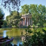 Villa Borghese | lago | Roma