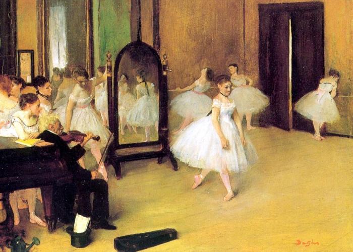Edgar Degas | classe di danza