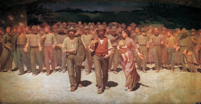 Il quarto stato | Giuseppe Pellizza da Volpedo