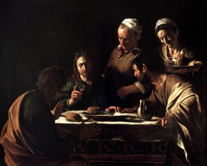 Caravaggio | Cena Emmaus | Musei Milano