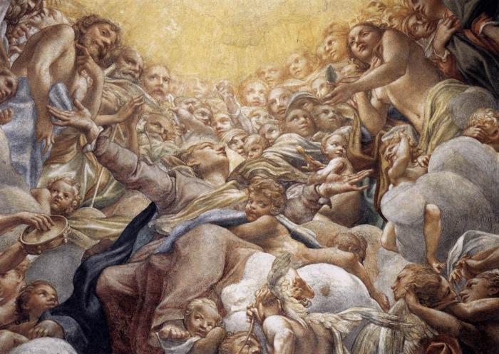 Correggio | Assinzione della Vergine | musei Parma