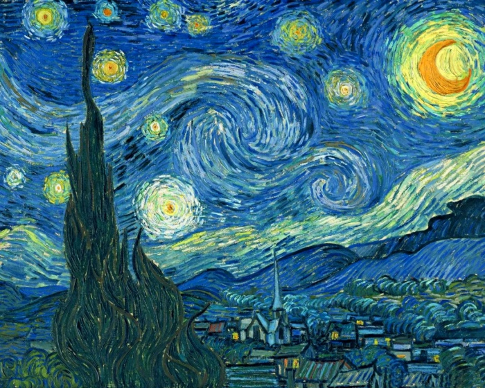 Starry night van gogh meaning