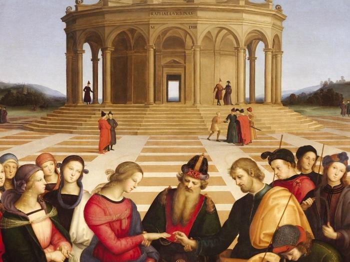 Raffaello | Sposalizio della Vergine